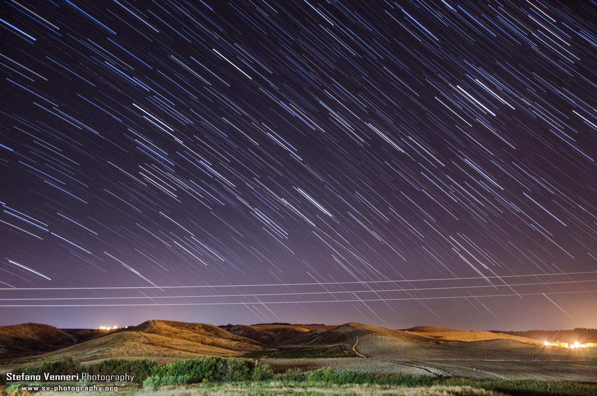 First startrail